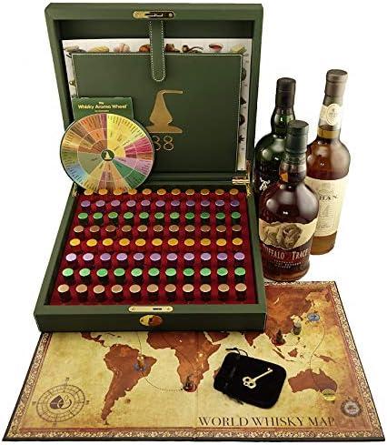 Kit Maestro Aromas del Whisky - 88 Aromas: Amazon.es: Hogar