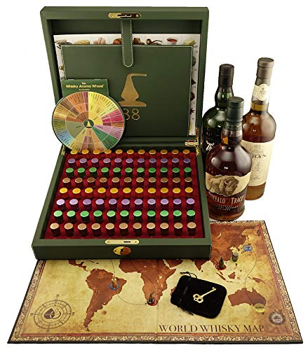 Master Whisky Aroma Kit - 88 whisky aromas (board game and whisky aroma wheel included) (Best Macallan Scotch Whiskey)