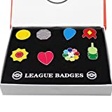 CHAOZI0 Pocket Monsters Gym Badges Collection Gift