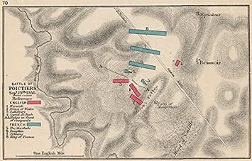 Amazoncom BATTLE OF POITIERS Sept 19 1356 English v French 100