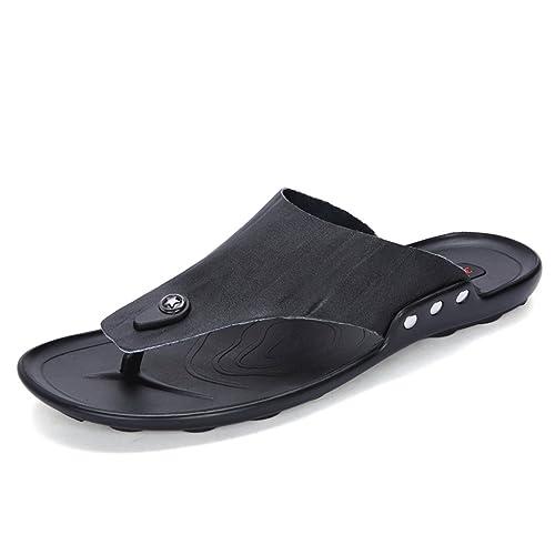 Nuevos Zapatillas para Hombres Chanclas de Verano para Hombres Chanclas Zapatos Antideslizantes de Playa Sandalias y Pantuflas para Hombres Zapatos para ...