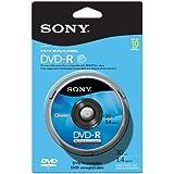 Sony 10DMR30RS1H 8cm DVD-R 10-Pack Spindle Skin Pack