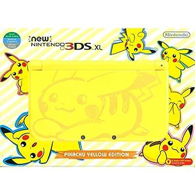 New Nintendo 3DS XL - Pikachu Yellow Edition