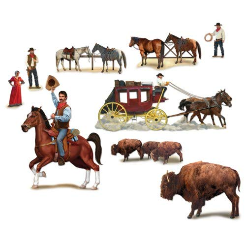 Wild West Character Props Party Accessory (1 count) ()