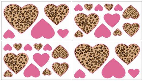 Amazon Com Sweet Jojo Designs 9 Piece Cheetah Animal