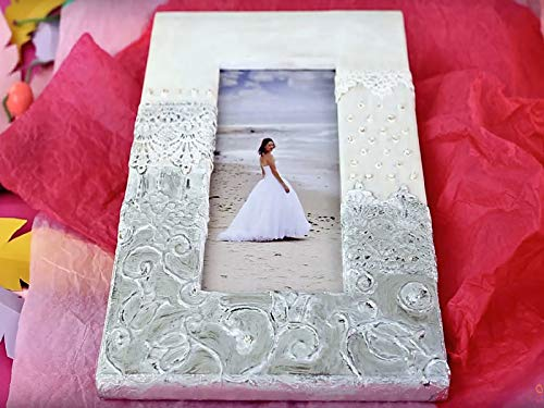Do It Yourself Pewter Embossing Imitated Photo Frame - Artemboss Amaco Metal Sheets