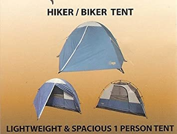 Large 1 Person HIKER BIKER 3 Season Tent