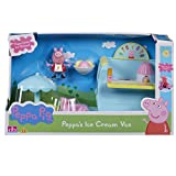 Peppa Pig Ice Cream Van Playset With Accessories