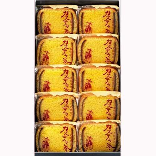Bunmeidou Kasutera sponge cake Japanese Toraditional sweets 10pice by Bunmeidou