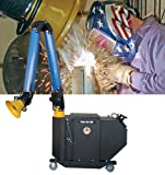 Air Systems PFE-750-8 10' Arm, 27'' Width, 32.5 Height, 40'' Depth Fume-Air 750 Portable HEPA Filtered Welding Fume Extractor