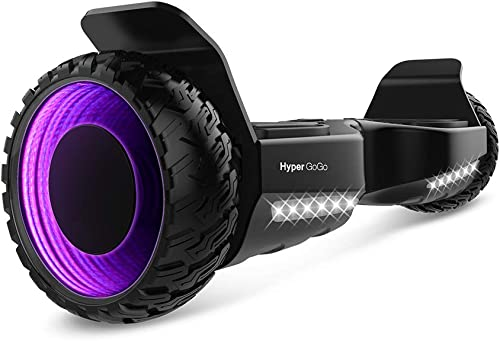 HYPER GOGO Hoverboard 6.5inch 3D Wormhole Hoverboards,UL2272 Certified Self Balancing electric scooter w Bluetooth With Carry Bag