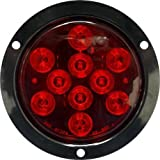 Seasense Round Tail Light, Flanged Led