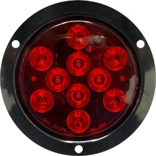 Seasense Round Tail Light, Flanged Led 50080297