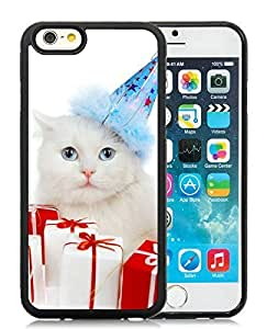 Diy Design Case Cover For SamSung Galaxy Note 2 Christmas Cat Black Hard Case 34