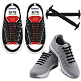 HOMAR No Tie Shoelaces for Kids and Adults -...