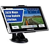 GPS Navigation for Car,Truck,CARRVAS 7 Inch Voice Turn Direction Guidance,Support Speed and Red Light Warning Pre-Installed US, Mexico,Canada + South America Maps