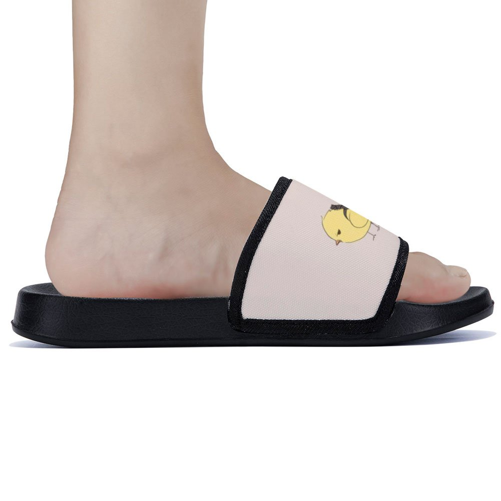Buteri Cute Chicken Slippers Quick-Drying Non-Slip Slippers for Womens