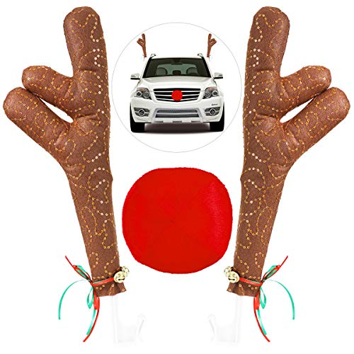 Christmas Car Auto Costume Decoration Santa Claus Legs Sticking Out of Trunk