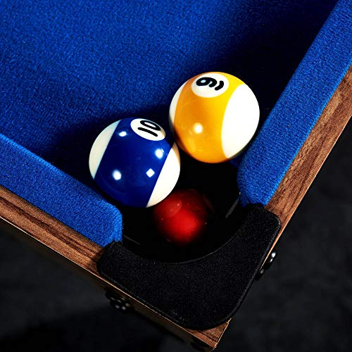 Lancaster 48 3 in 1 Pool Billiard Slide Hockey Foosball Combo Arcade Game Table