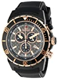 Swiss Precimax Men's SP13281 Pursuit Pro Sport Grey Dial with Black Silicone Band Watch