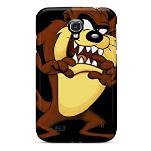 Shock-Absorbing Hard Phone Covers For Samsung Galaxy S4 With Support Your Personal Customized HD Taz Pattern LauraAdamicska