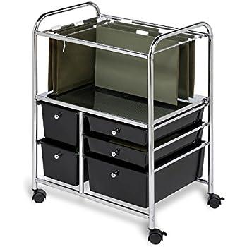 Honey Can Do CRT 01512 5 Drawer Hanging File Cart