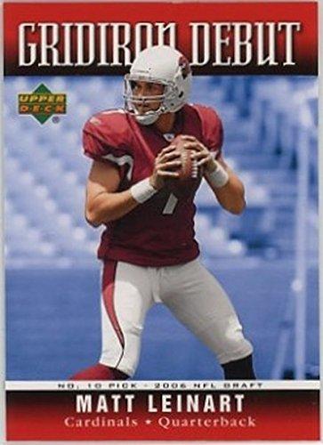 (2006 Upper Deck Gridiron Debut #GDML Matt Leinart NM-MT Cardinals )