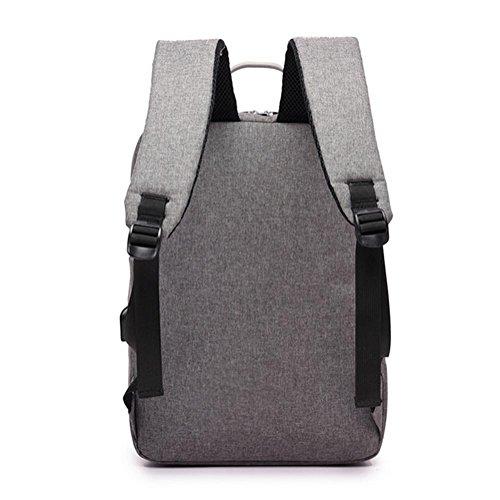 borsa a tracolla business casual, borsa del computer affari da 15,6 pollici, gli uomini e le donne viaggiano zaino, borsa studentessa di moda