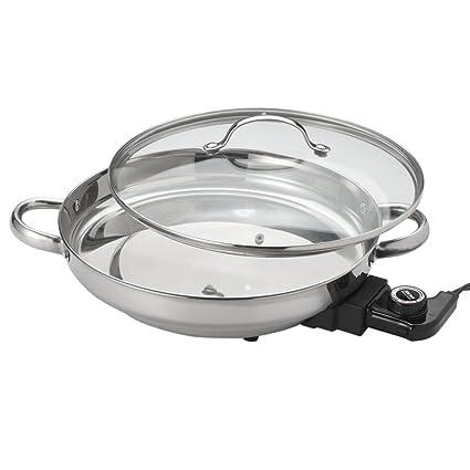 Amazoncom Aroma Housewares Afp 1600s Gourmet Series Stainless