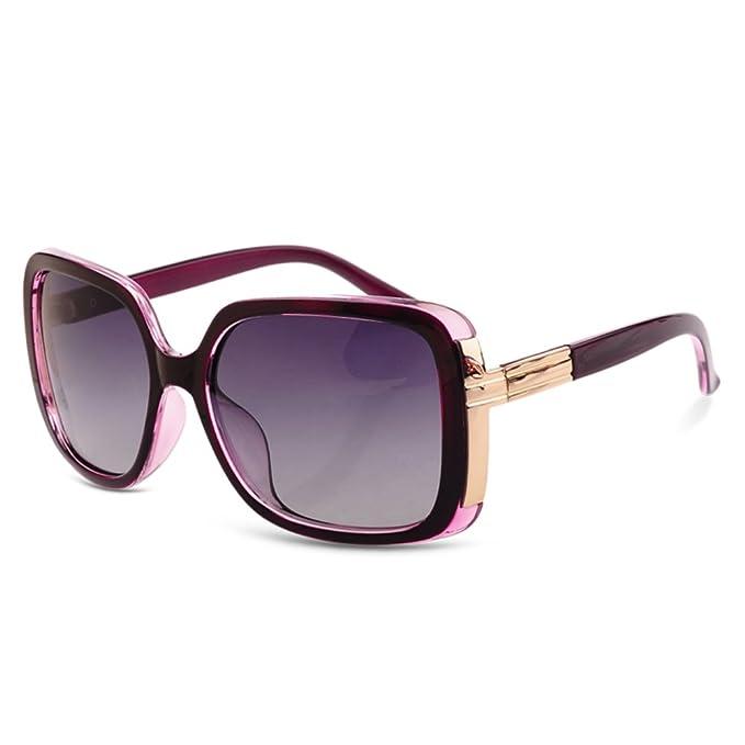 gafas de sol retro/Miopía de la elegante Plaza mujer hipster ...
