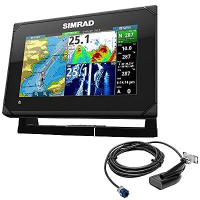 Reel Draggin' Tackle - Simrad GO7 XSE Chartplotter/Fishfinder w/HDI Transom Mount Transducer by Simrad