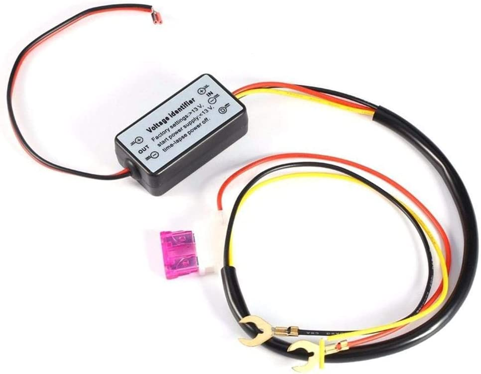 DRL Controller Car Auto LED Daytime Running Light Relay Harness Dimmer
