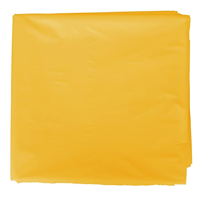 Fixo 72260 - Pack de 25 bolsas disfraz, 56 x 70 cm, color amarillo