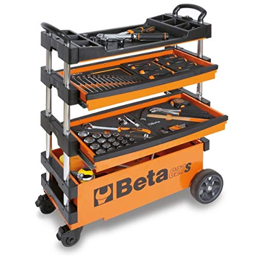 BETA TOOLS C27S FOLDING TOOL TROLLEY FOR PORTABLE USE