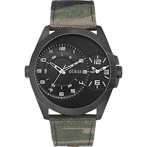 esRelojes Reloj W0505g1Amazon Mens Dual Alpha Camuflaje Time Guess sthQdxrC
