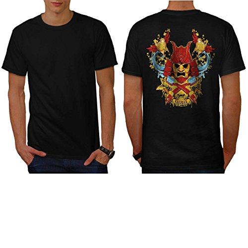 teeth-cleaner-samurai-warrior-men-new-s-5xl-t-shirt-back-wellcoda
