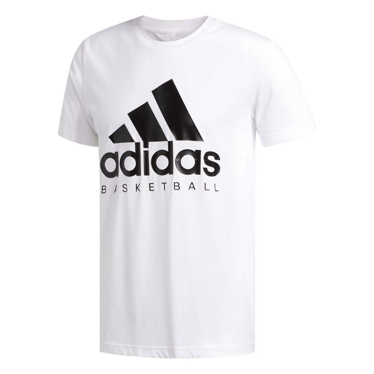 Adidas - Maglietta a Maniche Corte da Basket da Uomo
