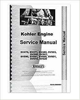 Kohler Sv Series Engines Service Manual Amazon Books. Turn On 1click Ordering For This Browser. Wiring. Kohler Ch15 Wiring Diagram At Scoala.co