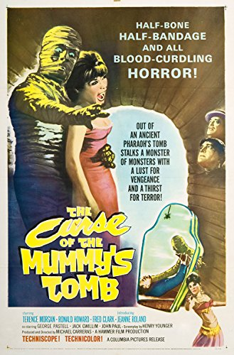 The Curse of the Mummy's Tomb 1964 Authentic 27