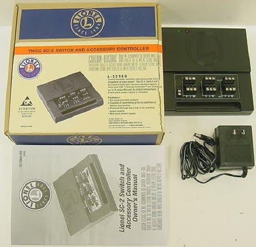 Lionel Trains Track O TMDD Sc-2 Switch Controller