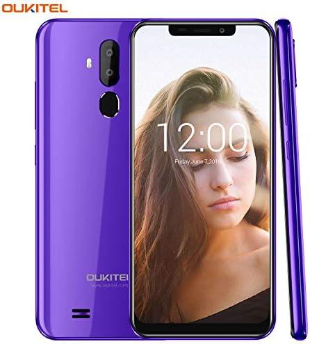 OUKITEL C12 Unlocked Smartphone Android 8.1 Unlocked Cell Phones,6.18″ 19:9 Full-Screen Display ,8MP+2MP Cameras, 3G Android Phones Unlocked, Dual SIM Smartphone 2GB+16GB Fingerprint & Face Unlock