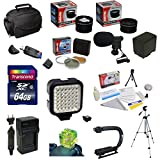Ultimate Accessory Kit For the Canon Vixia HF G10, HF G20, HF G30, HF S20, HF S21, HF S30, HF S200 Includes 32GB High Speed Error Free SDHC Memory Card + SDHC Card Reader + 58MM 3 Piece Pro Filter Kit (UV, CPL, FLD) + BP-819 Extended Life Replacement Batt