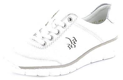81eed6673e3e Rieker Damen Schnuerschuhe 53701-80 Weiß 212226  Amazon.de  Schuhe    Handtaschen