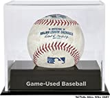 Texas Rangers Game-Used Baseball with Deluxe Ball Cube Display Case - Fanatics Authentic Certified - MLB Game Used Baseballs