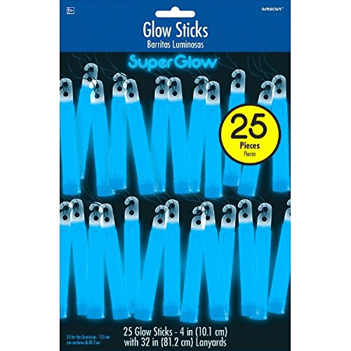 Amscan Flying Colors Graduation Party Glow Stick Mega Value Pack (Set of 25)