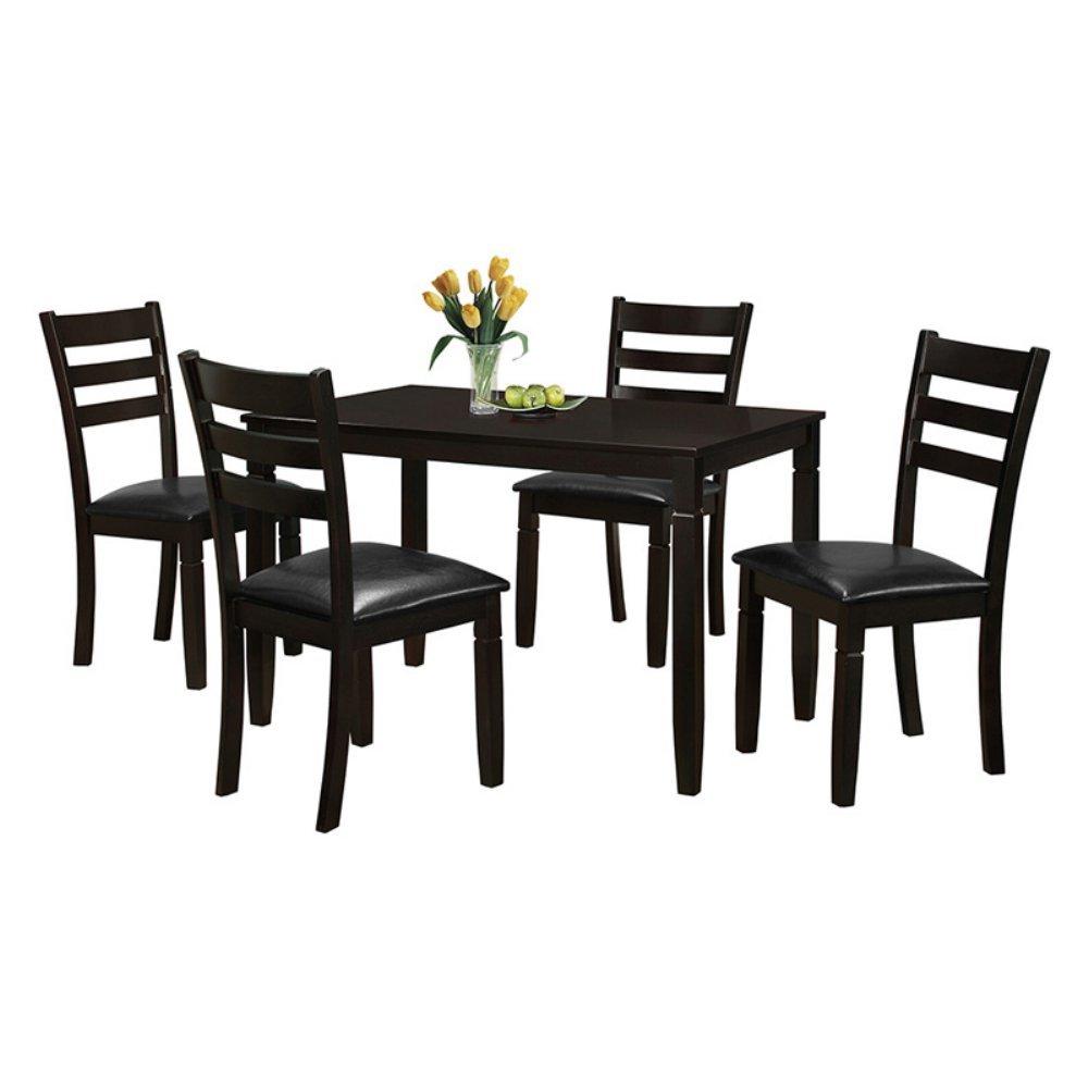 Milton Greens Stars Salamanca 48'' x 30'' Rectangular Dining Table, Dark Brown