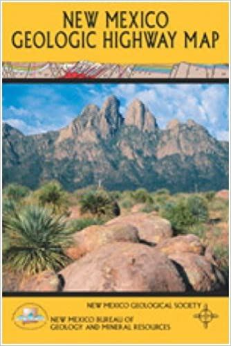 New Mexico Geologic Highway Map Maureen E Wilks 9781585460229