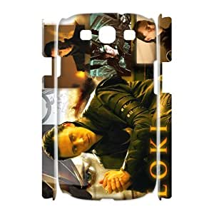 HXYHTY Thor Loki Customized Hard 3D Case For Samsung Galaxy S3 I9300