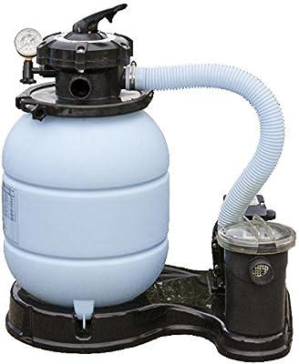 Gre FS300 - Filtro de arena 4m3/h, con bomba de 0,24 CV: Amazon.es ...