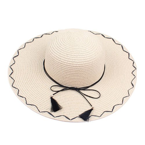9d247e645 Amazon.com : ALWLj Summer Straw Hat Women Big Wide Brim Beach Hat ...
